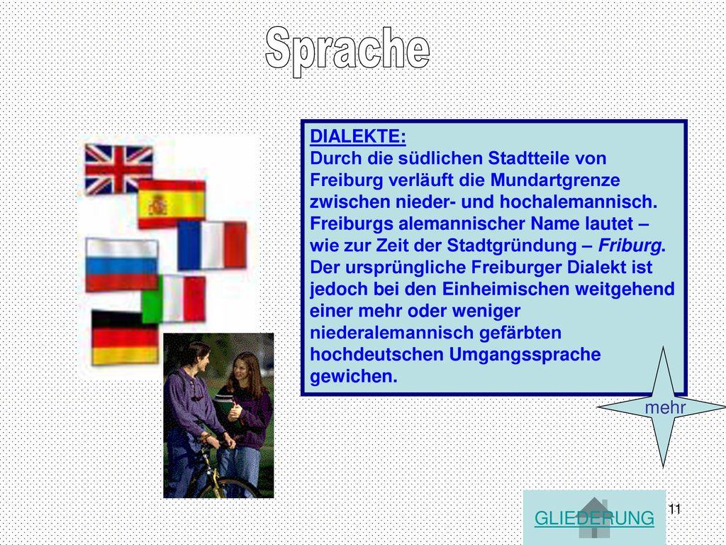 Sprache DIALEKTE: