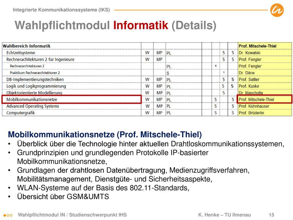 Wahlpflichtmodul Informatik (Details)