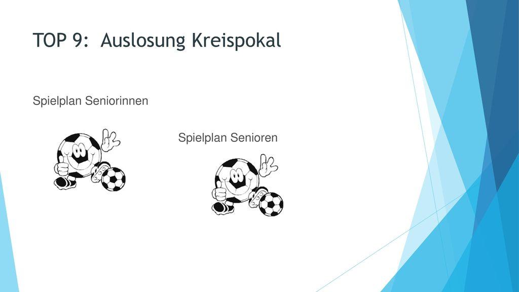 TOP 9: Auslosung Kreispokal