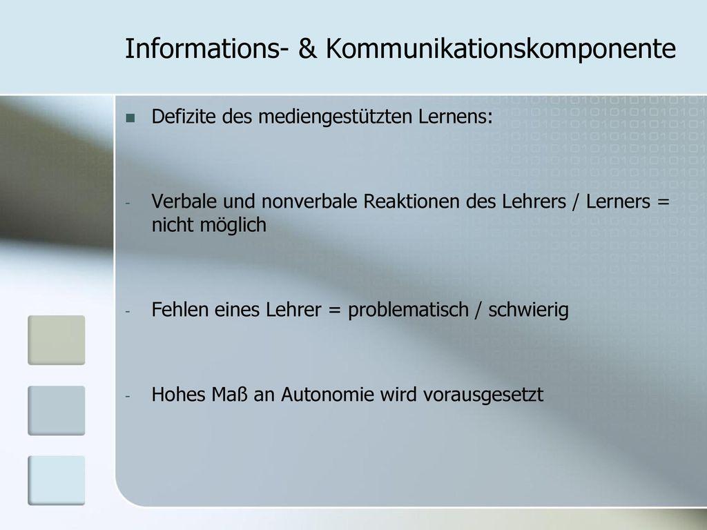 Informations- & Kommunikationskomponente