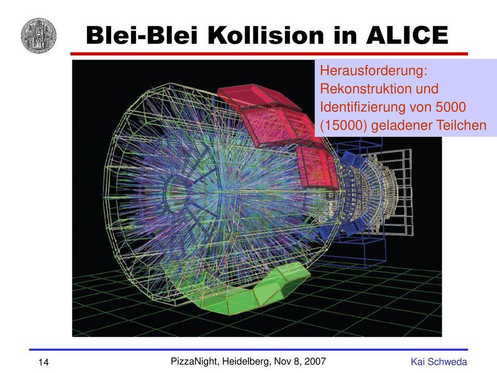 Blei-Blei Kollision in ALICE