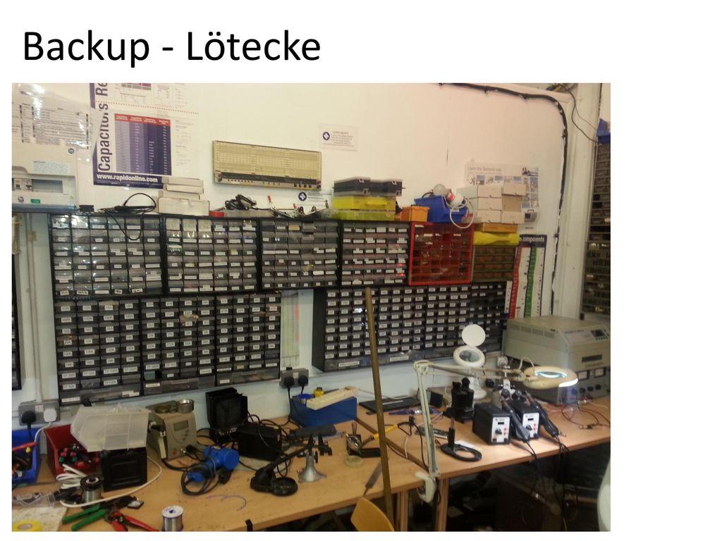 Backup - Lötecke
