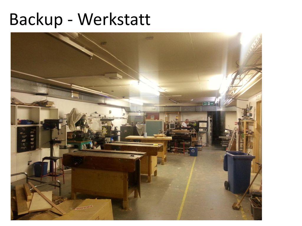 Backup - Werkstatt