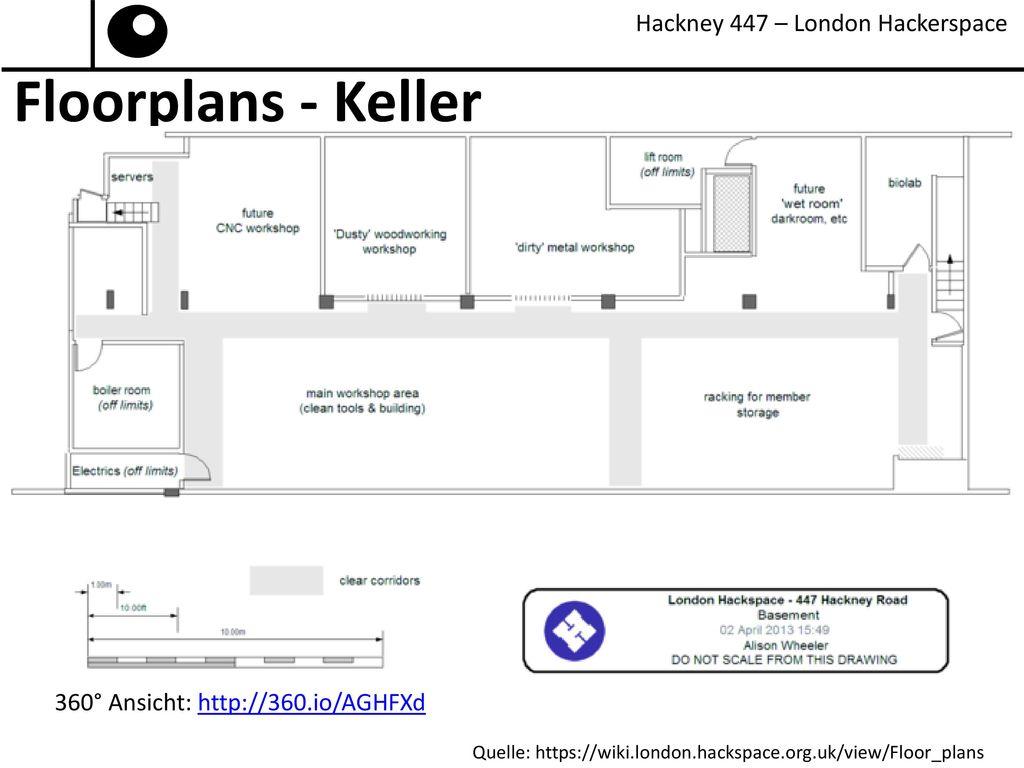 Floorplans - Keller Hackney 447 – London Hackerspace