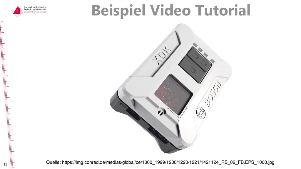 Beispiel Video Tutorial
