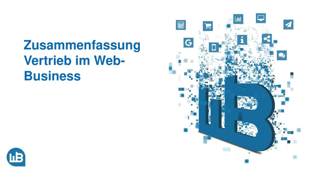 Zusammenfassung Vertrieb im Web-Business