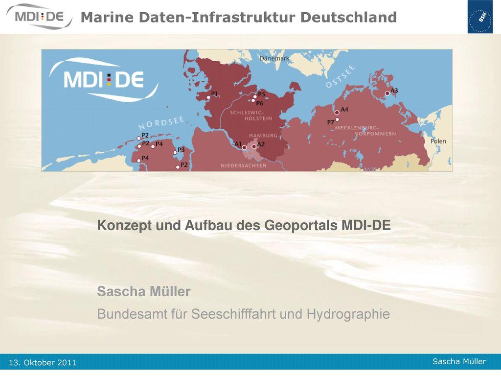 Marine Daten-Infrastruktur Deutschland