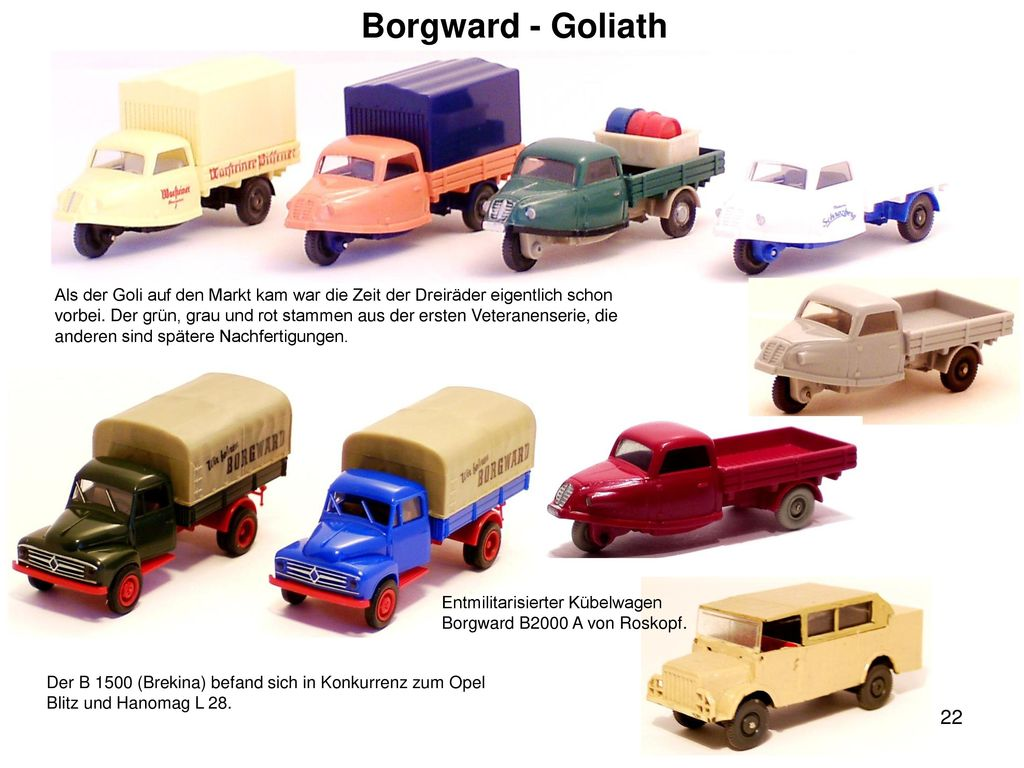 Borgward - Goliath
