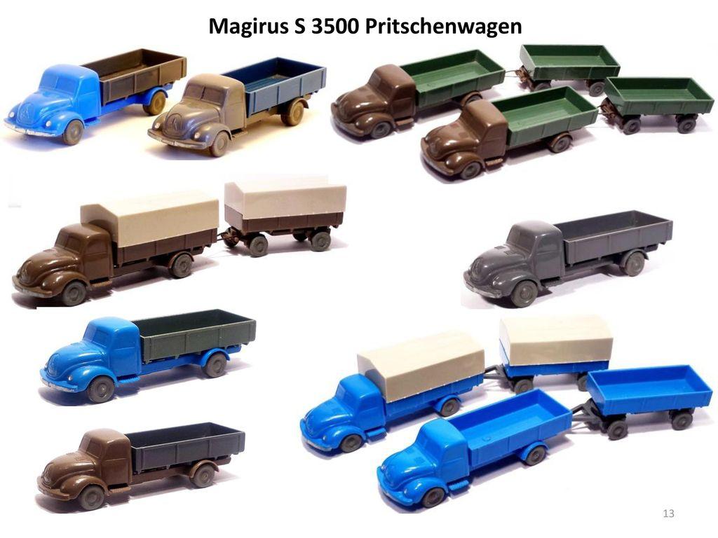 Magirus S 3500 Pritschenwagen
