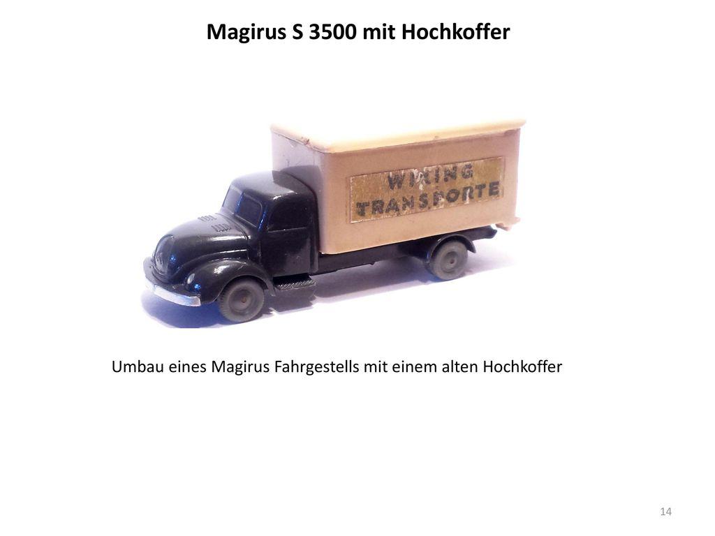 Magirus S 3500 mit Hochkoffer