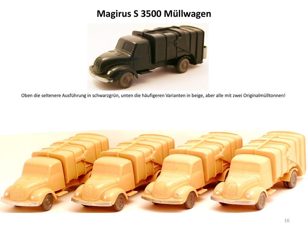 Magirus S 3500 Müllwagen