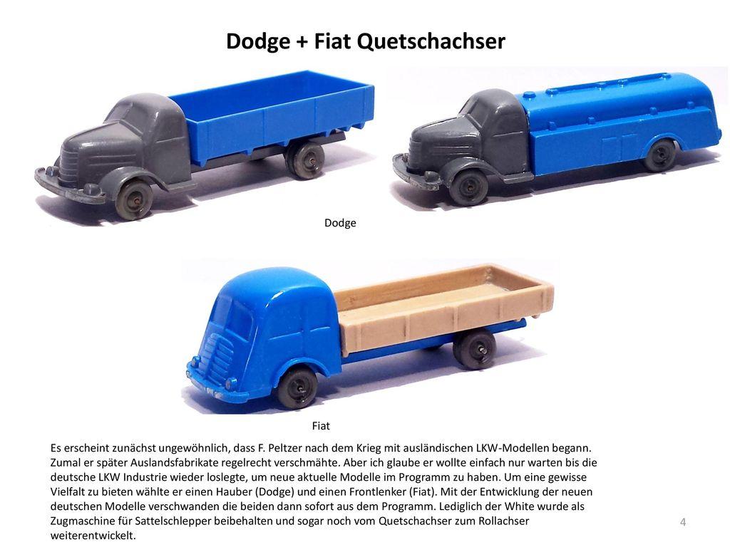 Dodge + Fiat Quetschachser