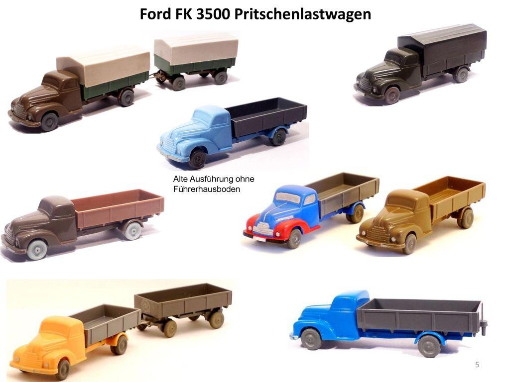 Ford FK 3500 Pritschenlastwagen