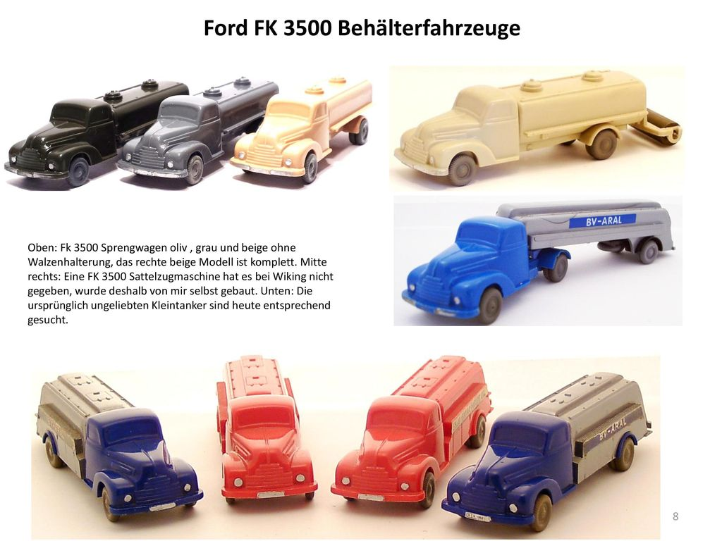 Ford FK 3500 Behälterfahrzeuge