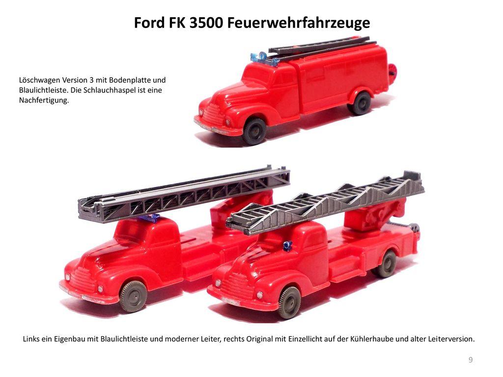 Ford FK 3500 Feuerwehrfahrzeuge