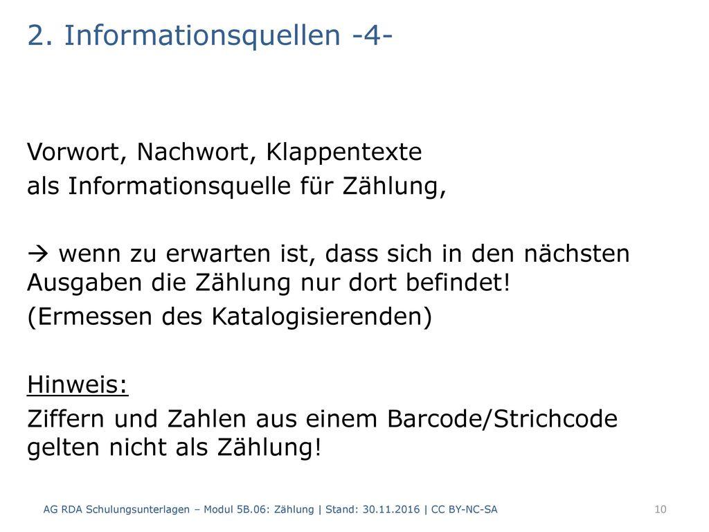 2. Informationsquellen -4-