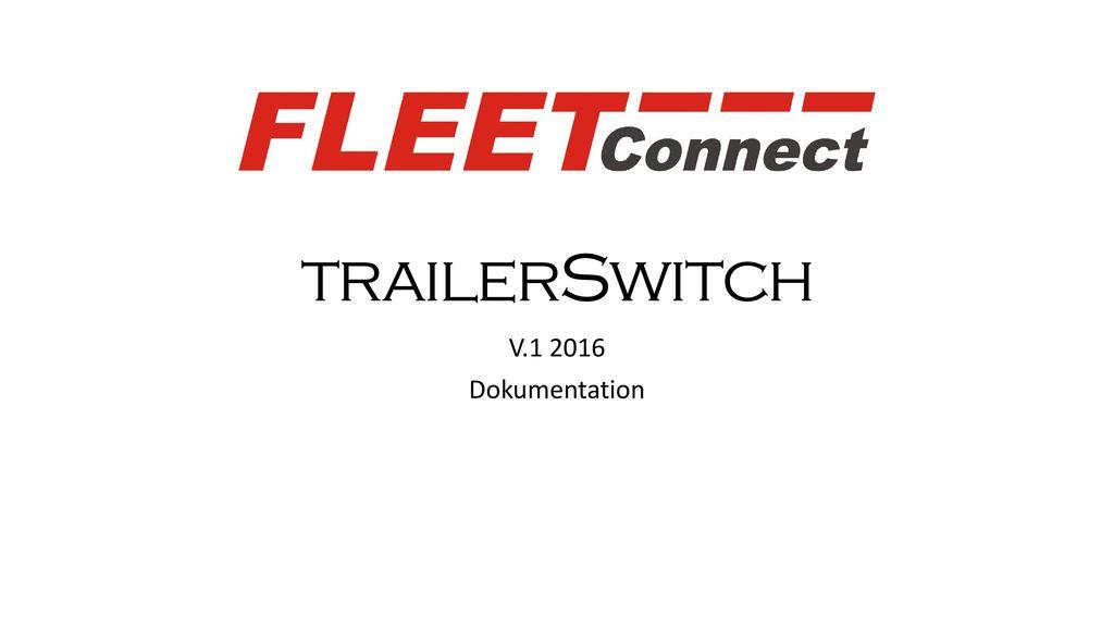 trailerSwitch V.1 2016 Dokumentation