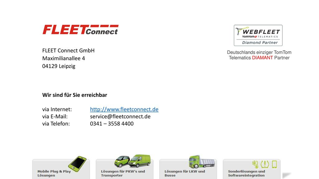FLEET Connect GmbH Maximilianallee 4 04129 Leipzig
