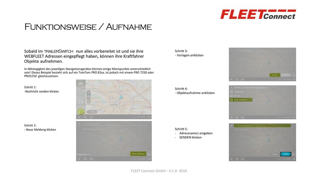 Funktionsweise / Aufnahme
