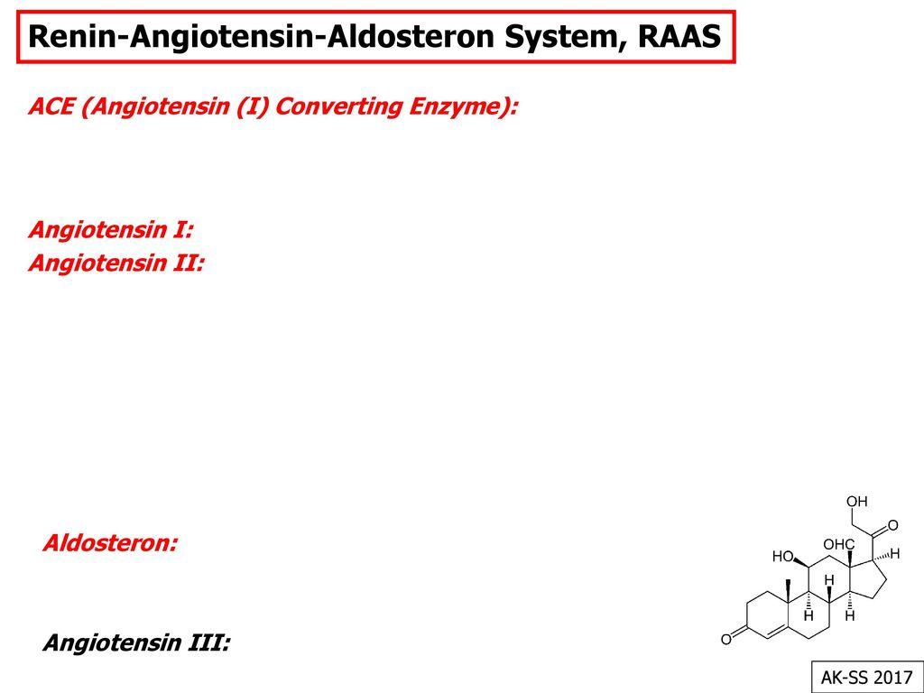 Renin-Angiotensin-Aldosteron System, RAAS