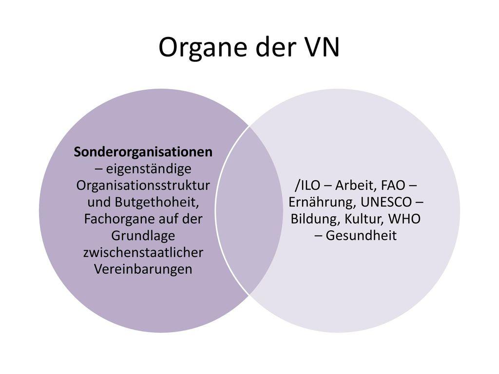 Organe der VN