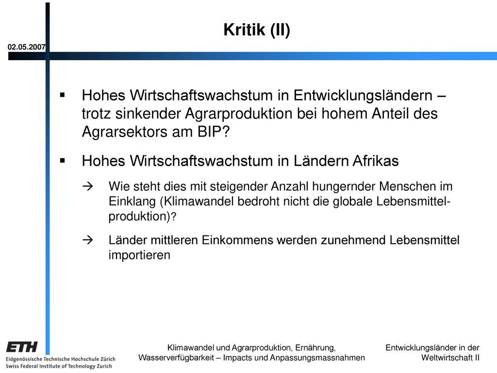 Kritik (II) 02.05.2007.