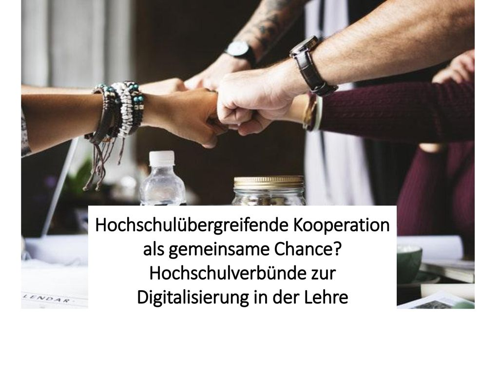 Hochschulübergreifende Kooperation als gemeinsame Chance