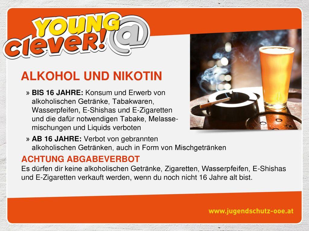 Alkohol und nikotin gleichzeitig entziehen
