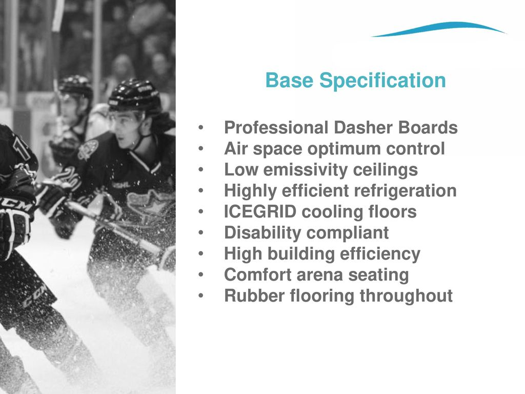 Base Specification Professional Dasher Boards