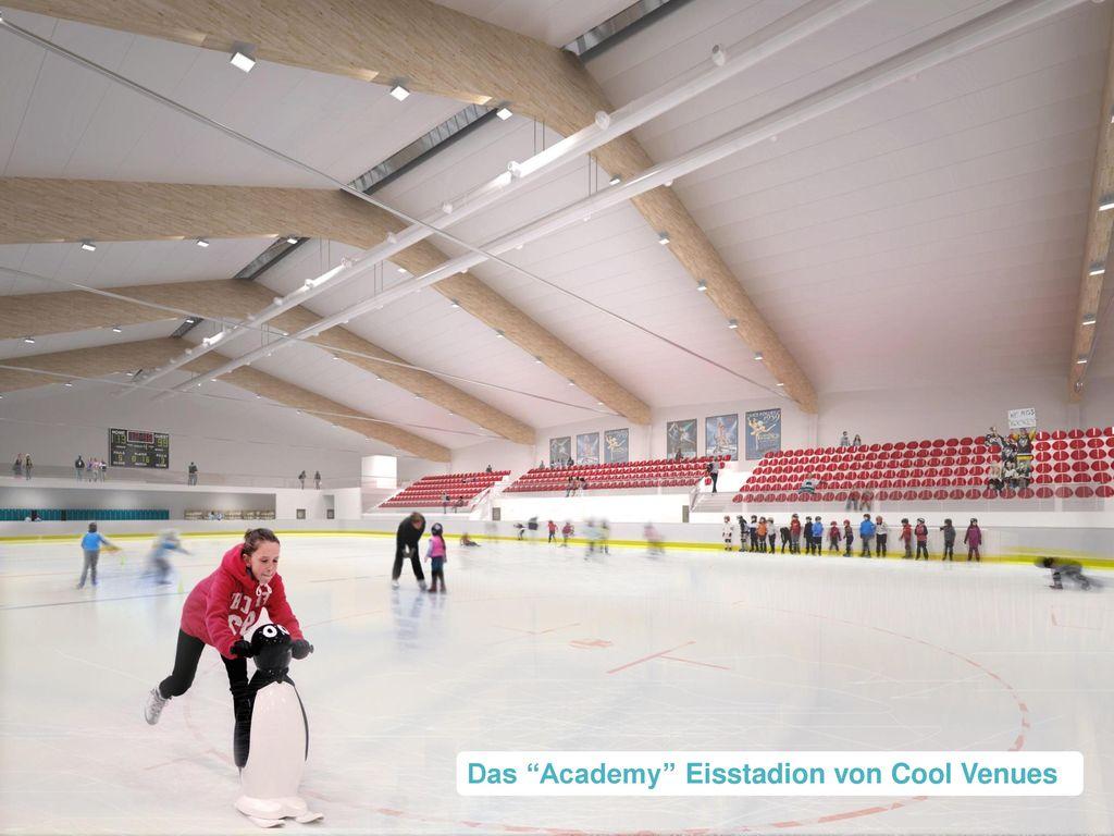 Das Academy Eisstadion von Cool Venues