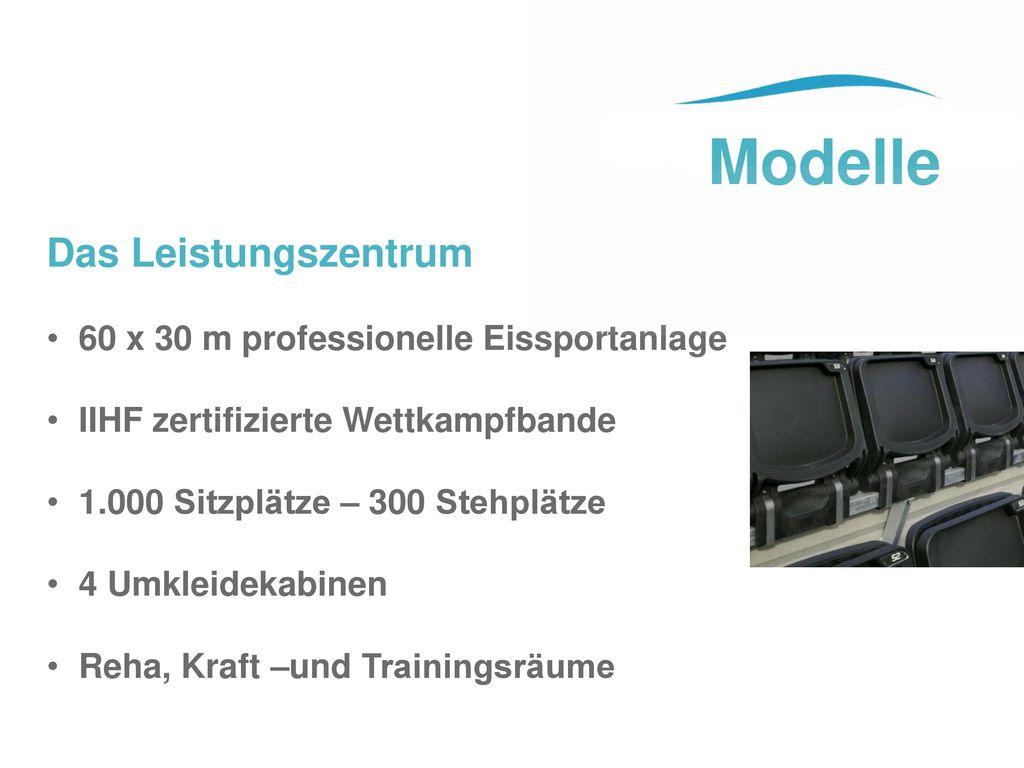Modelle Das Leistungszentrum 60 x 30 m professionelle Eissportanlage