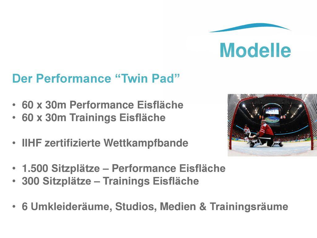 Modelle Der Performance Twin Pad 60 x 30m Performance Eisfläche