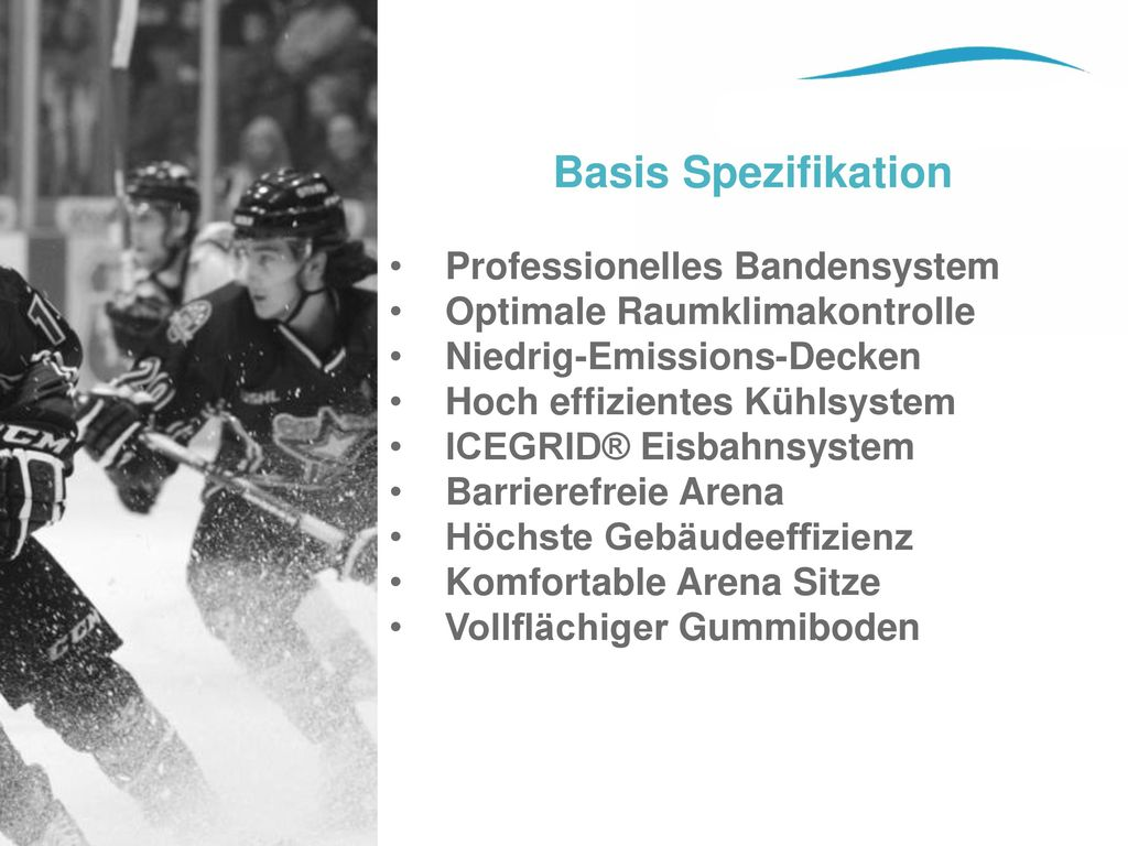 Basis Spezifikation Professionelles Bandensystem