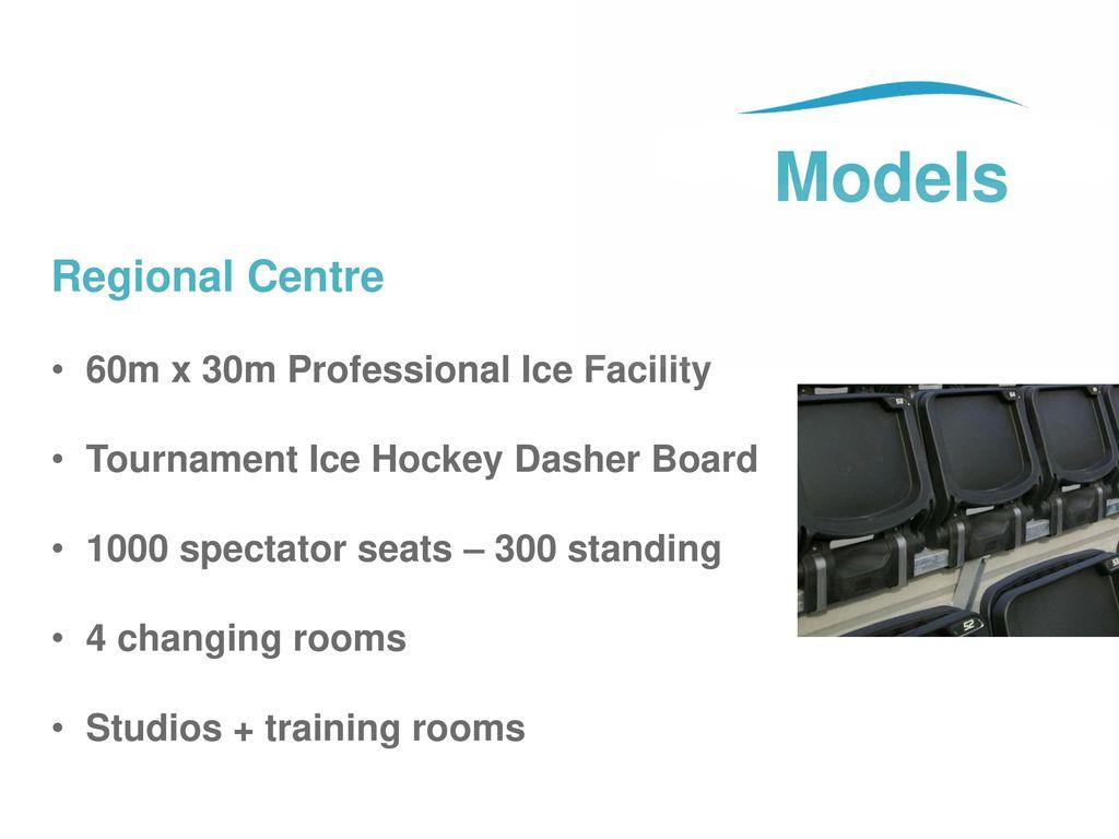 Models Regional Centre 60m x 30m Professional Ice Facility