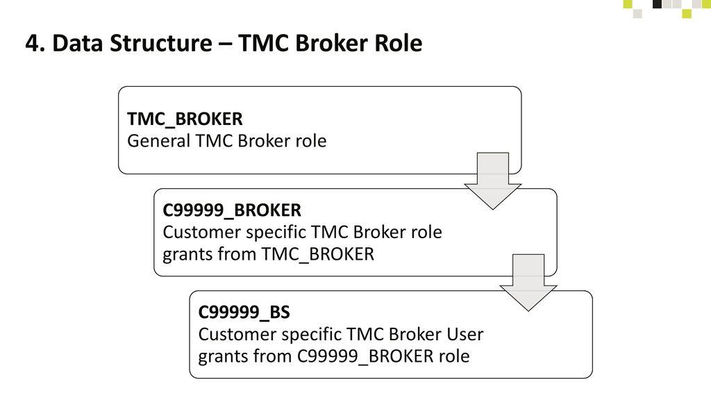 4. Data Structure – TMC Broker Role
