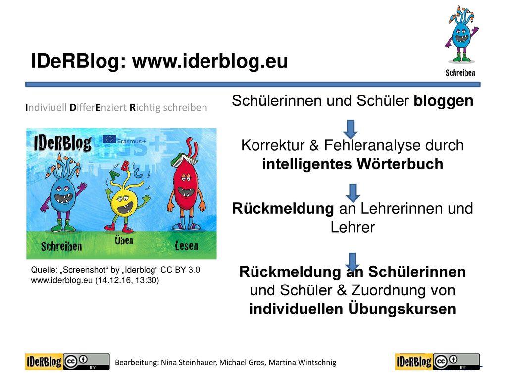 IDeRBlog: www.iderblog.eu