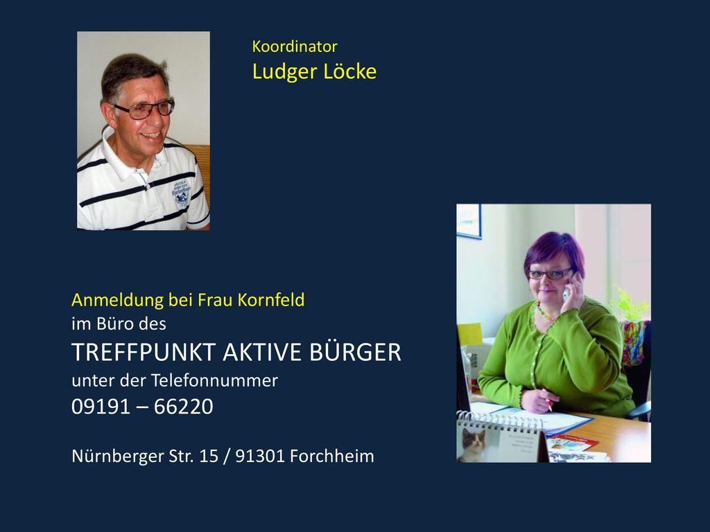 Ludger Löcke Anmeldung bei Frau Kornfeld