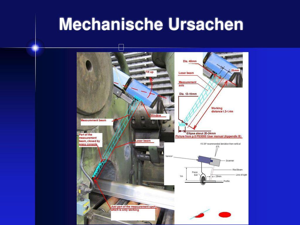 Mechanische Fehlerursachen