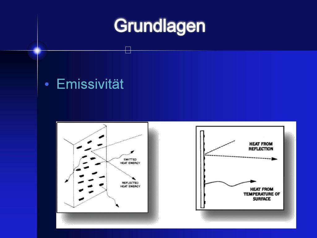 Grundlagen Emissivität