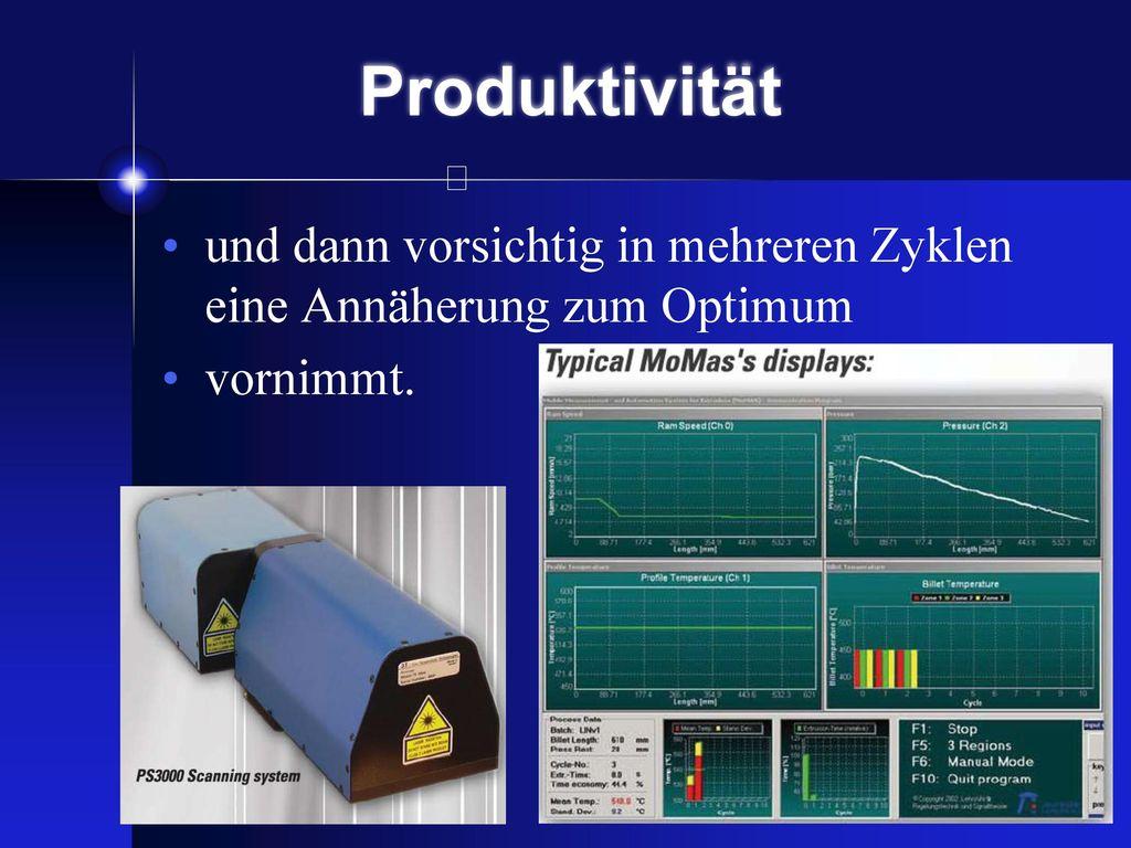 Produktivität durch ein System welches alle Daten aufnimmt...