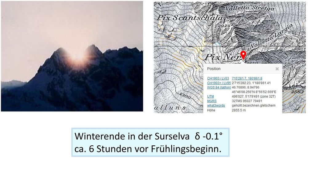 Winterende in der Surselva δ -0.1°