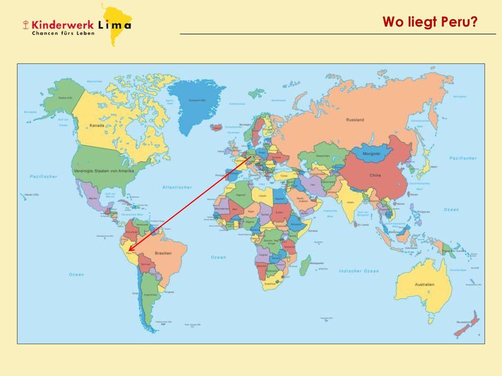 Wo liegt Peru