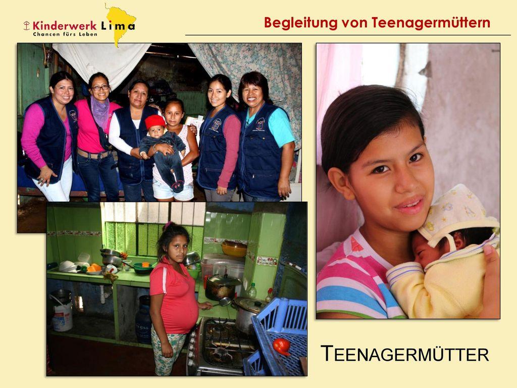 Begleitung von Teenagermüttern