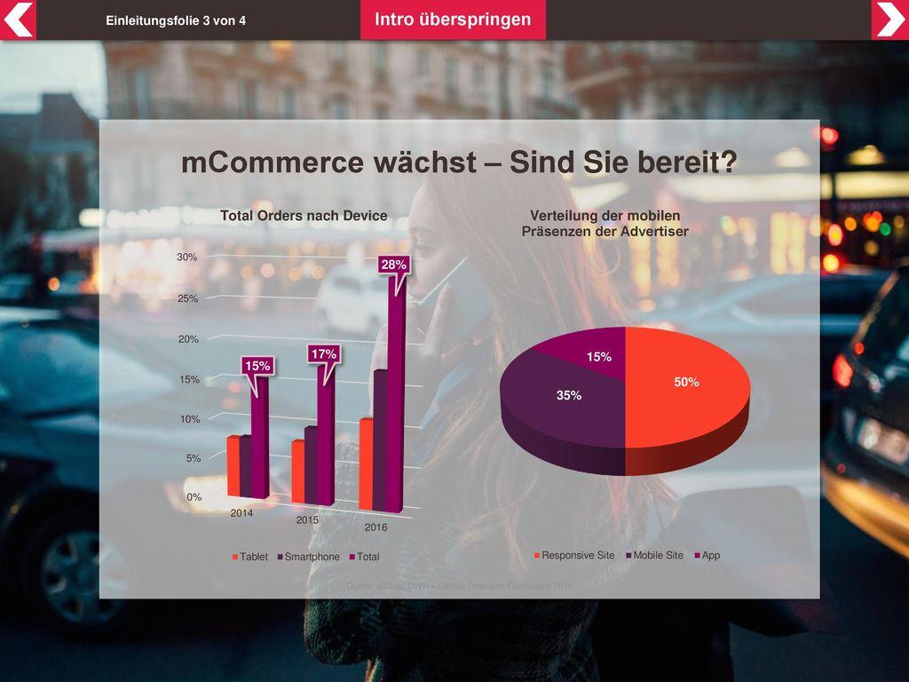 mCommerce wächst – Sind Sie bereit
