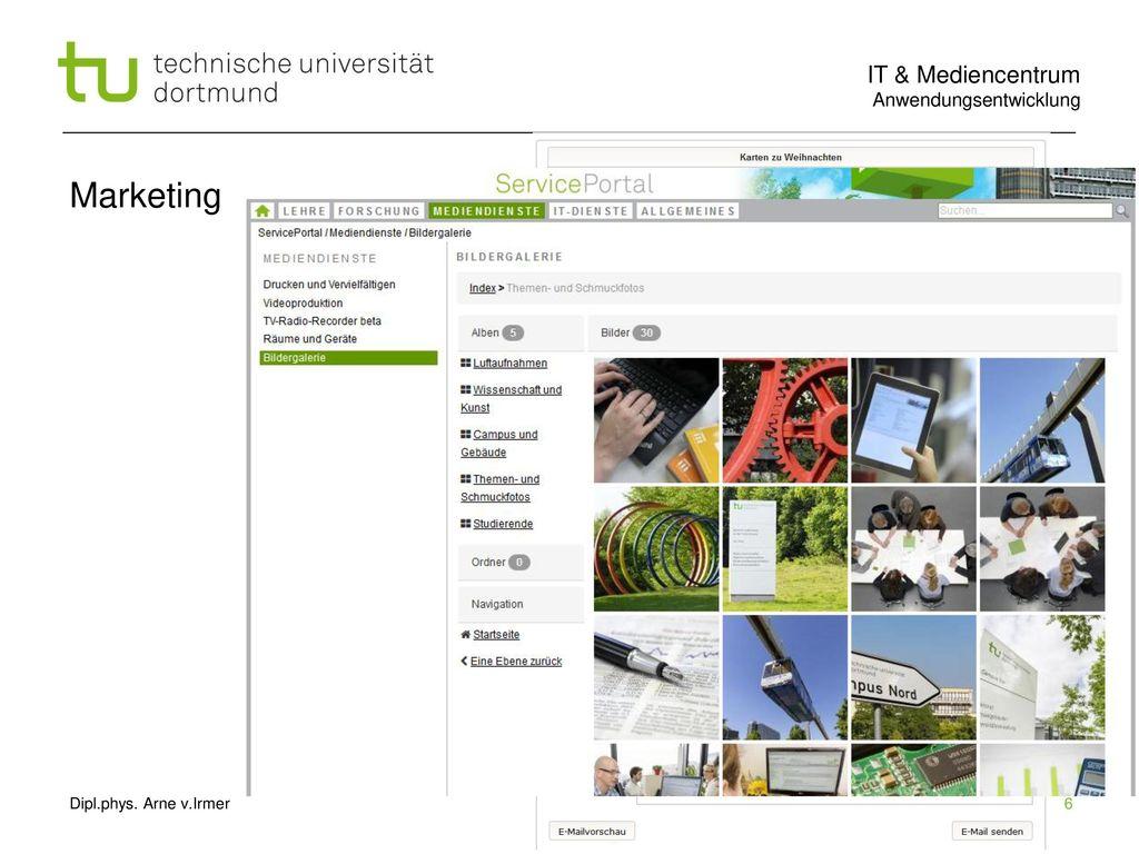 Marketing Dipl.phys. Arne v.Irmer