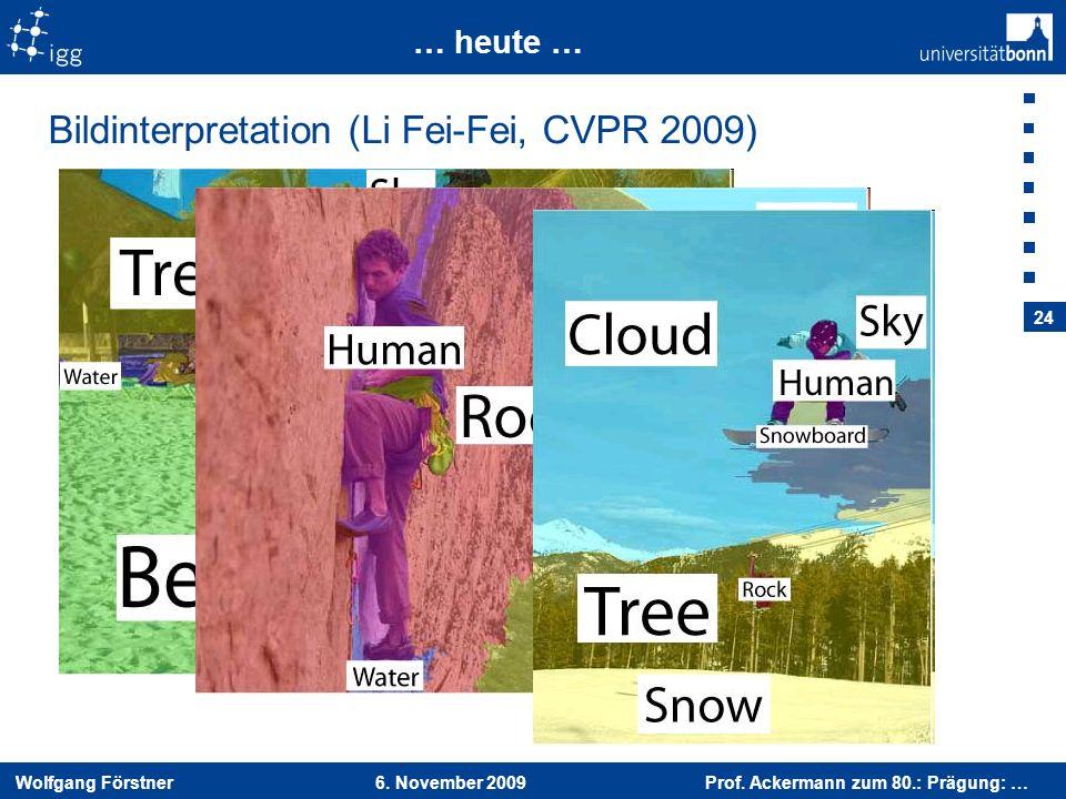 Bildinterpretation (Li Fei-Fei, CVPR 2009)