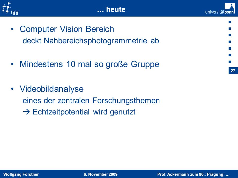 Computer Vision Bereich