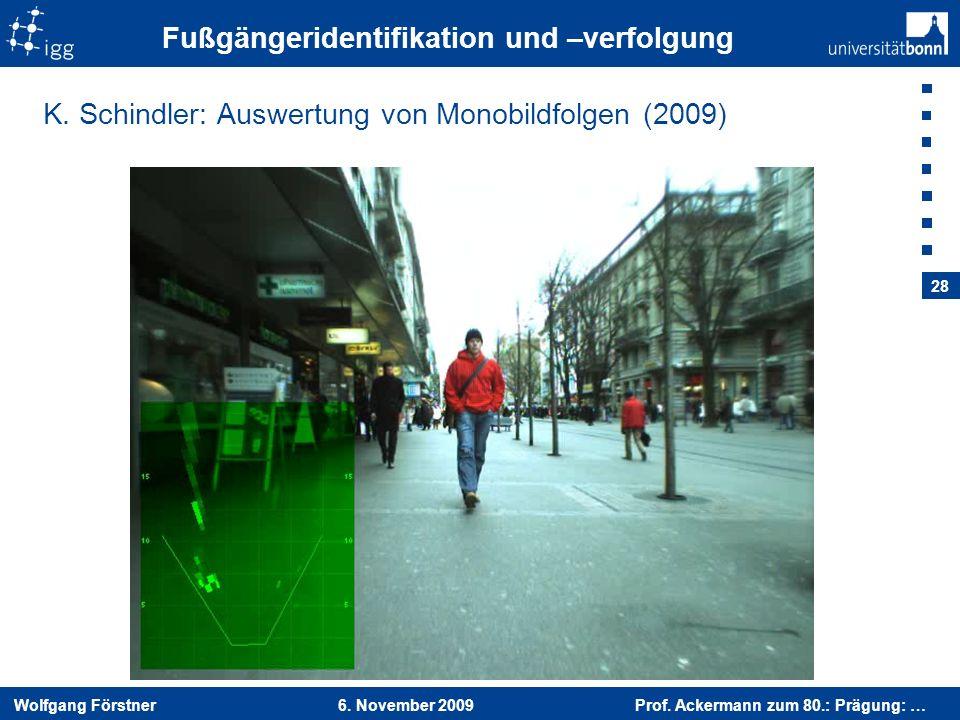 Fußgängeridentifikation und –verfolgung