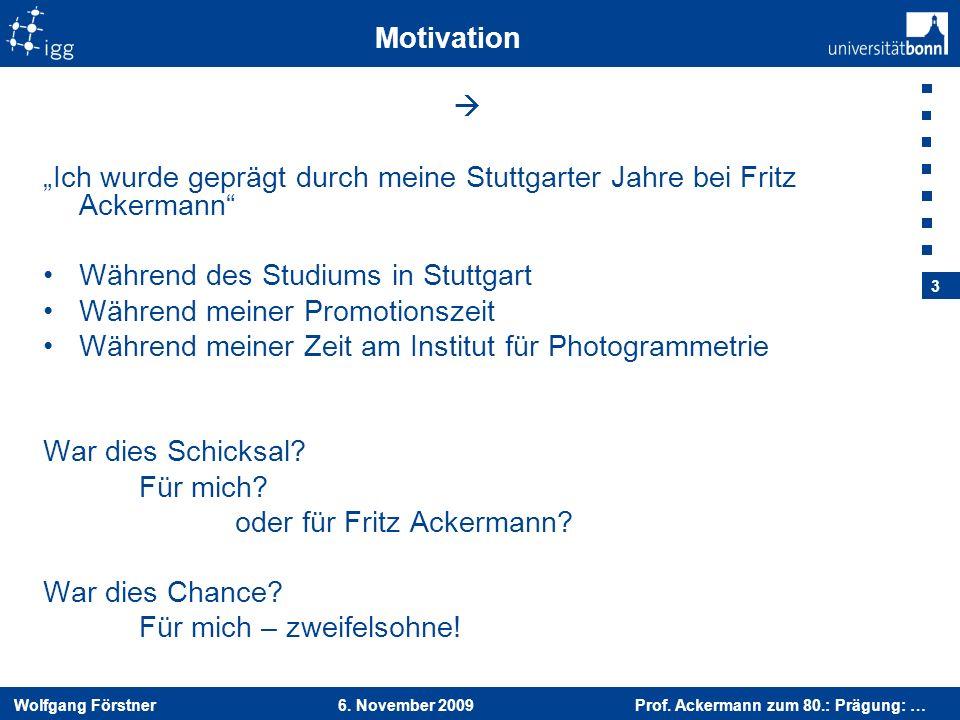 """""""Ich wurde geprägt durch meine Stuttgarter Jahre bei Fritz Ackermann"""