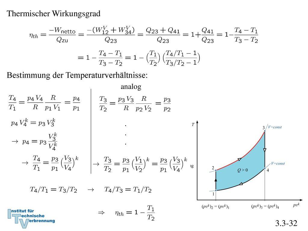 Thermischer Wirkungsgrad